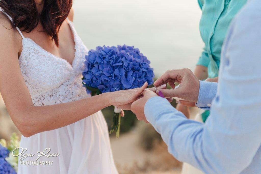 Algarve cliff top wedding in Lagos, Algarve, Portugal