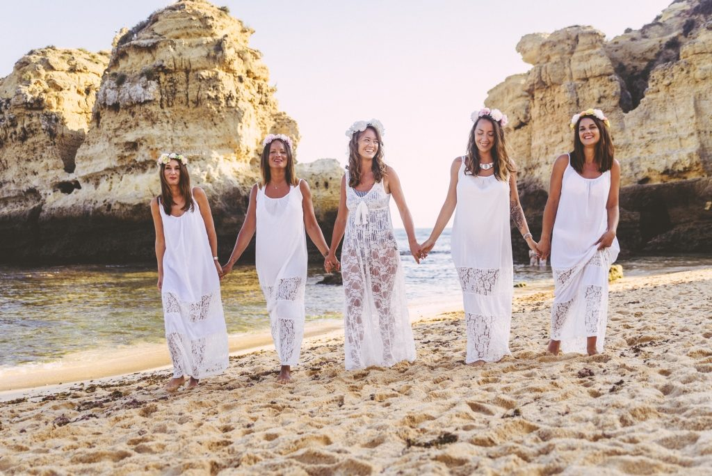Hen party photosession in Albufeira, Algarve by Olga Rosi