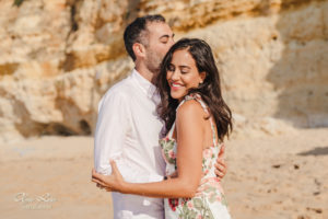 Engagement photographer in Carvoeiro, Algarve, Portugal - by Olga Rosi Photography