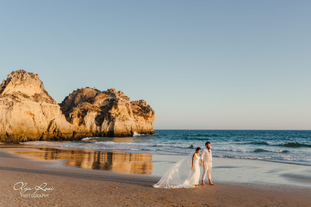Pestana Alvor Praia wedding, one to one session at the resort and on the beach - Algarve photographer Olga Rosi